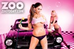 Риан Сагден, фото 564. Sexy Carwash Zoo April 2012 - Also Featuring Emma Frain (LQRhian Sugdentagged), foto 564