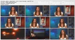 DARYA FOLSOM wow - KRON4 newsbabe -  August 3, 2011 - wow