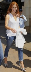 Poppy Montgomery - Set of Extra @ The Grove, , L.A.  - April 27, 2012