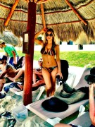 Fergie - wearing a bikini on Memorial Day 05/28/12 Twitpic