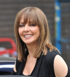 Carol Vorderman - London Studios 29th May 2012