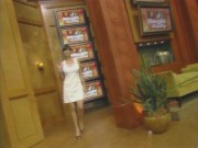 Catherine Bell - Live with Regis and Kelly 2.6.2008 (leggy)