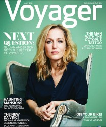 Gillian Anderson, Voyager Magazine: July 2012